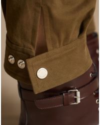 Belstaff | Green Reilelly Trousers | Lyst