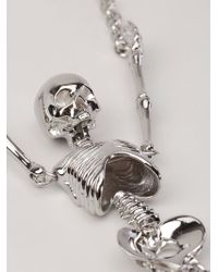 Vivienne Westwood - Metallic Giant Skeleton Necklace - Lyst