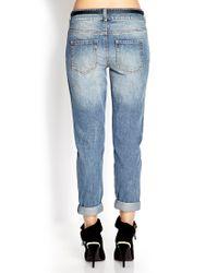 Forever 21 Blue No-Fuss Boyfriend Jeans