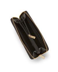 Rebecca Minkoff Black Ava Zip Wallet