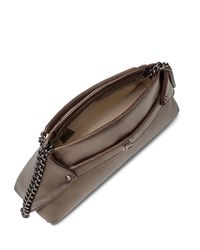 Akris - Metallic Ai Small Cervo Leather Pochette - Lyst