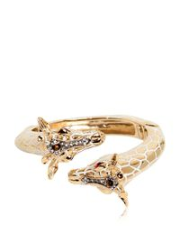 Roberto Cavalli Metallic Giraffe Bracelet