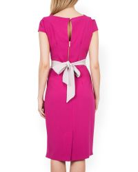 Closet | Pink Midi Pencil Dress | Lyst