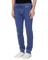 DSquared² - Blue Casual Pants for Men - Lyst