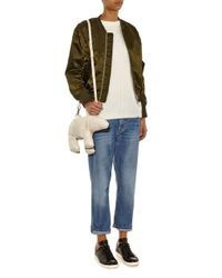 Christopher Raeburn - White Polar Bear Leather Shoulder Bag - Lyst