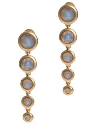 Eddie Borgo | Blue Gemstone Cone Drop Earring | Lyst