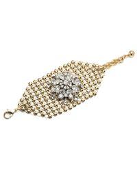 Lulu Frost - Metallic *new* Mesh Wide Bracelet - Lyst