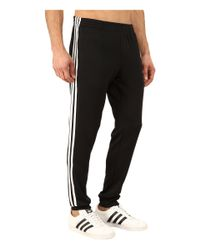 Adidas Originals | Black Superstar Cuffed Track Pants for Men | Lyst