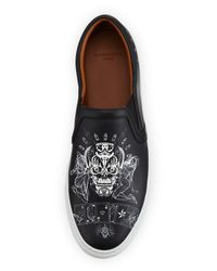 Givenchy - Black Elmerinda Printed Skate Shoe - Lyst
