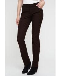 Jigsaw Brown Bi-stretch Jeans