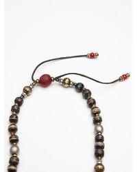 Free People | Black Tibetan Fiesta Hamsa Necklace | Lyst