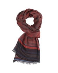 Etro | Red Scarf for Men | Lyst