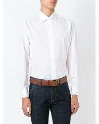 Brioni - White Classic Shirt for Men - Lyst