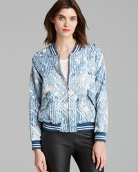 Marc By Marc Jacobs Multicolor Jacket Matelasse Bomber