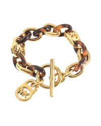 MICHAEL Michael Kors   Metallic Armband Heritage   Lyst