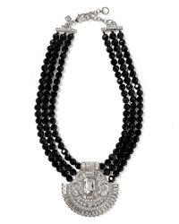 Banana Republic   Black Deco Necklace   Lyst