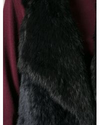 Meteo by Yves Salomon - Black Fur Gilet - Lyst