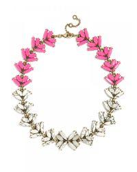 BaubleBar | Pink Howlite Botanica Collar | Lyst