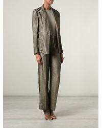 Jean Paul Gaultier - Gray Trouser Suit - Lyst