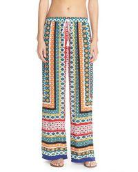 La Blanca - Multicolor Garden Mosaic Printed Pants - Lyst