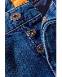 BOSS Orange Blue Regular Fit Jeans 'Orange25 Voice' for men