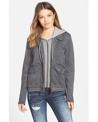 Billabong | Black 'wishing For' Hoodie Jacket | Lyst
