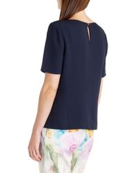 Ted Baker Blue Briele Box Fit Top