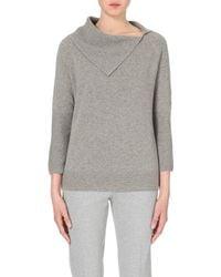 Max Mara | Gray Dialogo Cashmere Jumper, Women's, Size: Xl, Grey | Lyst