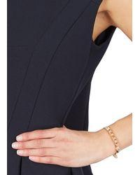 Michael Kors | Pink Studded Leather Bracelet | Lyst
