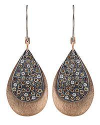 Todd Reed | Metallic 'autumn' Diamond Earrings | Lyst