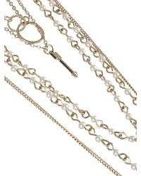 Ziba - Metallic Alessia Necklace - Lyst