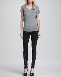 J Brand - Black Hewson Studded Skinny Jeans - Lyst