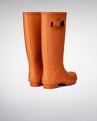HUNTER Orange Women's Huntress Wellington Boots