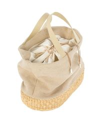 Joie | Natural Muun Cancale Jute Tote | Lyst