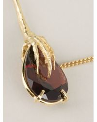 Wouters & Hendrix - Red Crows Claws Garnet Necklace - Lyst