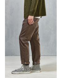 Dickies   Brown X Uo Slim Tapered Herringbone Pant for Men   Lyst