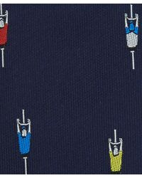 Paul Smith | Blue Navy Cyclist Silk Tie for Men | Lyst
