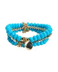 Aéropostale | Blue Beaded Bracelet 4-pack | Lyst