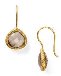 Coralia Leets | Metallic Braided Teardrop Earrings | Lyst