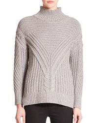 Parker - Gray Tawny Turtleneck Sweater - Lyst