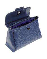 Versace Jeans - Blue Handbag - Lyst