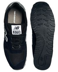 New Balance | Black 373 Trainers for Men | Lyst