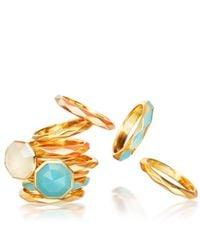 Astley Clarke | Blue Otto Amazonite Ring | Lyst