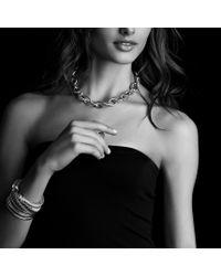 David Yurman - Renaissance Bracelet with Rose Quartz Pink Tourmaline and Gold - Lyst