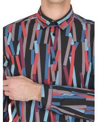 Christopher Kane - Multicolor 3d Bolster Printed Cotton Poplin Shirt for Men - Lyst