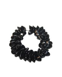 DSquared² | Black Shell Necklace | Lyst