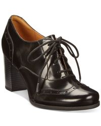 Clarks | Black Artisan Women's Ciera Brine Oxford Shooties | Lyst