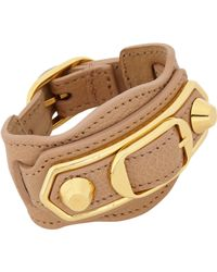 Balenciaga Metallic Ligne Classic Bracelet