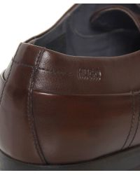 BOSS - Brown Negolas Oxford Shoes for Men - Lyst