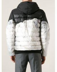 Moncler Gray Gary Padded Jacket for men